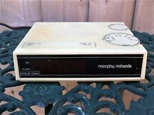 "Vintage Morphy Richards Radio Alarm Clock CR360 LW MW & ADJ Working ""A"""