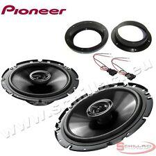 Haut-parleurs enceintes avant pour PIONEER Volkswagen VW T5 avec adaptateurs