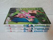 Lot Mangas Vamos Là ! tomes 1 à 3 Intégrale Yoshimi Osada Seinen Doki Doki Foot