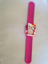 Hello Kitty Bambini Orologio da Polso al Quarzo Rosa Cinturino facile Idea Regalo Ragazze Regno Unito a suon GENTIL