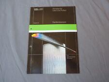 BBC Goerz Metrawatt XY Vertikal Schreiber für Labor 1982 Katalog Prospekt