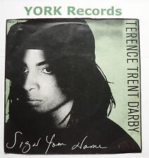"""TERENCE TRENT D'ARBY - Sign Your Name - Excellent Con 7"""" Single CBS TRENT 4"""