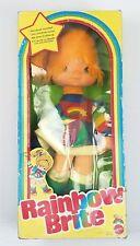 "VINTAGE 1983 MATTEL RAINBOW BRITE Doll (#7230) - 18"" - NEW IN BOX (Distressed )"