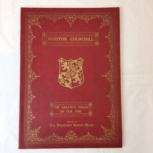 Winston Churchill The Illustrated London News Paperback Book History 1954 80th