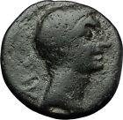 AUGUSTUS 27BC Philippi Macedonia PRIESTS Founding City Oxen Roman Coin i59290