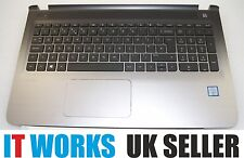 HP Pavilion 15-AB Series Palmrest Cover UK Keyboard Touchpad / Mousepad silver
