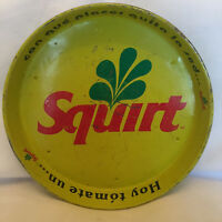 Collectible Mexican Squirt Round Metal Beverage Tray Hoy Tomate Un . . . Squirt