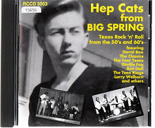 CD ROLLER COASTER [DIVERS ARTISTES]  ' HEP CATS FROM BIG SPRING '  [R'n'R]