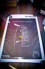 NESPRESSO A 4x6 ft Bus Shelter Original Food Advertising Poster