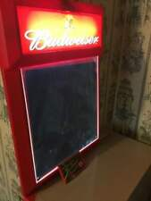 Budweiser Electric Blackboard with Crayons