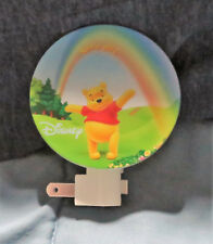 NEW DISNEY WINNIE THE POOH LET'S PLAY NIGHT LIGHT WITH ROTARY SHADE UL LISTED