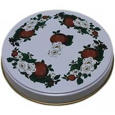 Herdabdeckplatten 4 er Herdplatten Herd Apfel Äpfel weiss rot Kochfeldabdeckung