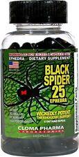 Black Spider 25, 100 Ct Weight Loss Fat Burner Diet