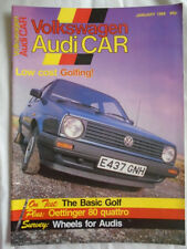 Volkswagen Audi Car Jan 1988 VW Golf, Oettinger 80 quattro