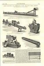 1894 planta de harina de Sol Molinos Bromley distribuir cintas transportadoras de medición de mezcla