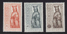 Liechtenstein Sc 284-286 MNH. 1954 Madonna in Wood, cplt set,  VF