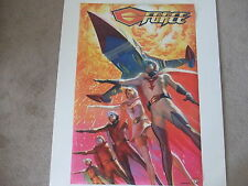 G-Force Alex Ross Battle Of Planet Top Cow Poster New