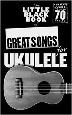 The Little Black Book Of GREAT Songs Ukulele Learn to Play POP UKE Music Book