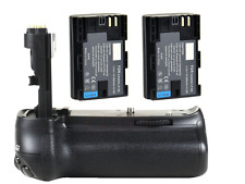 Pro Vertical Battery Grip + 2x LP-E6 Battery for CANON EOS 70D 80D Camera