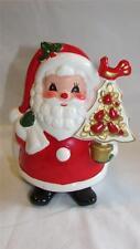 Vintage Christmas Napcoware Ceramic Santa Planter 1950's Napco T33