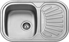 Stainless Kitchen Sinks without Taps