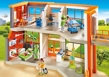 Playmobil #6657 Furnished Children's Hospital - New Factory Sealed