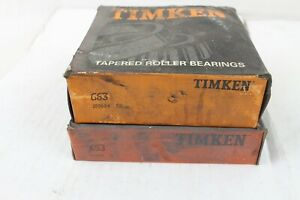 NEW NIB Timken SET 405 Tapered Roller Bearing Cone & Cup Assembly 653 / 663 Part