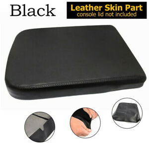 1x Leather Console Lid Armrest Center Cover For 02-08 Dodge Ram 1500 2500 3500