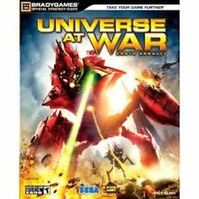 Universe at War Earth Assault Official Brady STRATEGY GUIDE PC PS3 cheats