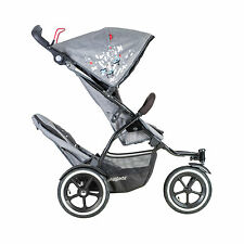 Phil & Teds 2017 Sport Stroller & Double Kit Graffiti - Includes Double Seat New
