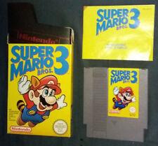 Nintendo Nes Super Mario Bros. 3 Complet Vintage