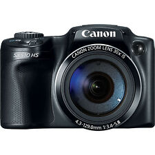 Canon PowerShot SX510 HS 12.1 MP Digital Camera - Black