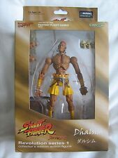 """Collectable"" - STREET FIGHTER Revolution 1 - Dhalsim figure - boxed/MINT - 2008"