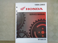 2001 2002 2003 Honda Magna VF750C CD C2 Service Repair Workshop Shop Manual