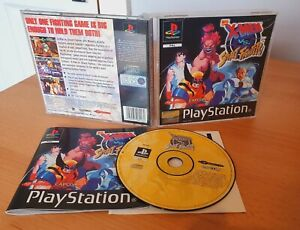 X-Men VS Street Fighter ~ PLAYSTATION 1 (PS1) ~ CAPCOM ~ ARCADE complete