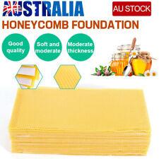 30Pcs Honeycomb Foundation Bee Hive Wax Frames Waxing Beekeeping Equipment