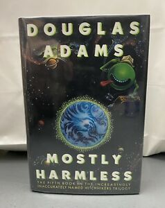 Hitchhiker's Guide to the Galaxy: Mostly Harmless by Douglas Adams signed 1st.