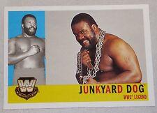 Junkyard Dog JYD WWE 2005 Topps Heritage Card #81 Wrestlemania Legend Superstar