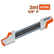 GENUINE STIHL 2in1 EASY FILE CHAIN SHARPENING TOOL 4.0mm 3/8P - 56057504303