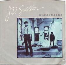 "J.D. SOUTHER Go Ahead And Rain ((**NEW 7"" 45 PROMO**)) w/PS  from 1984"