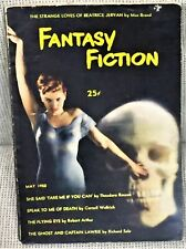 Max Brand Cornell Woolrich, Others / FANTASY FICTION VOLUME 1 NUMBER 1 1950