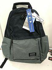 Swiss Gear Backpack Blue Book Bag Laptop Safe Shoulder Straps Navy & Grey New