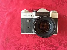 Zenit-E - Vintage Russian Soviet PHOTO Camera with bag