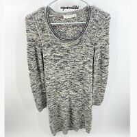 Isabel Marant Etoile Gray Marled Knit Sweater Dress EUC Size 42, US XL