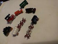 Vintage Diecast Metal Miniature Toy Japan Lot Of 7