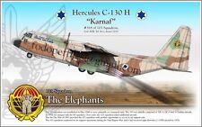 Hercules C-130 H - IAF Israel Air Force - Poster Profile
