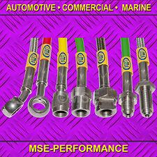 ACCIAIO Inox Completo Kit Tubo Del Freno Adatto Honda Civic 96-02 (dischi) - pfx2039