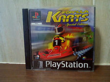 FORMULA KARTS SPECIAL EDITION - sony playstation PS1 game - with manual