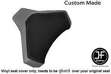 BLACK & GREY VINYL CUSTOM FITS DUCATI 848 1098 1198 SEAT COWL PAD COVER ONLY