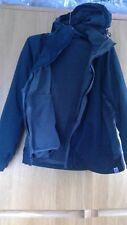 Ladies outdoors coat, 2-in-1 with detachable fleece. Size 16, with hood